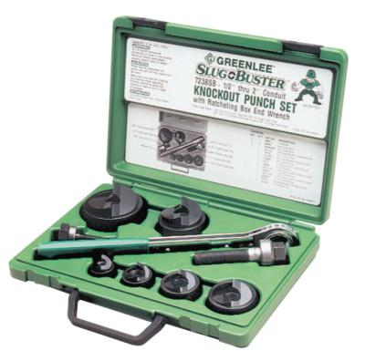 GREENLEE Slug-Buster Knockout Kits, 1/2 in - 2 in