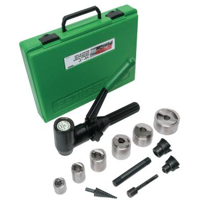 GREENLEE Speed Punch Knockout Punch Kits, 1/2 in - 2 in