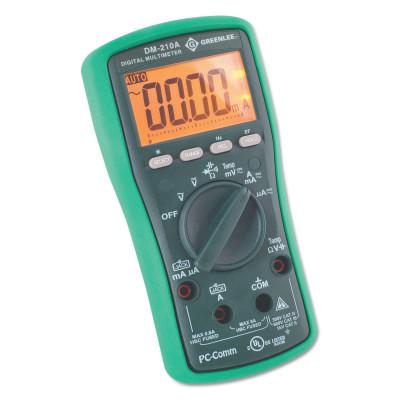 GREENLEE DM-210A Digital Multimeter with Auto and Manual Ranging