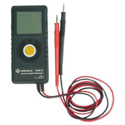 GREENLEE Pocket Multimeters, 5 Function, 450V AC/DC