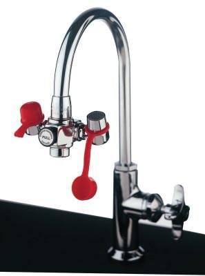 GUARDIAN EyeSafe Faucet-Mounted Eye Washes