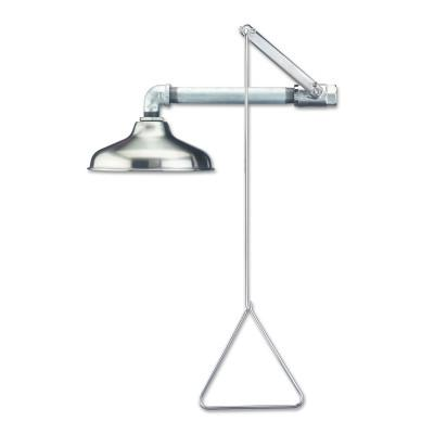 GUARDIAN Emergency Showers, 10 in Dia, 30 GPM, Stainless Steel