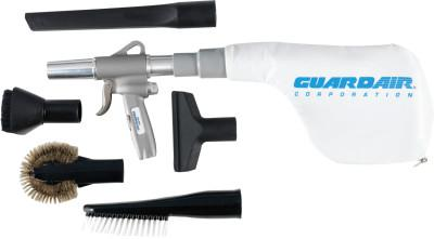 GUARDAIR Gun Vac XL Vacuum Kits, Crevice Tool, (3) Brushes, Upholstery Tool