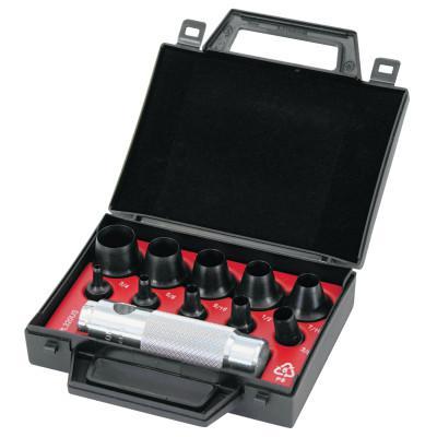 GUARDAIR 11 Piece Allpax Standard Hollow Punch Parts, English, Handle; Case