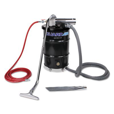 GUARDAIR Complete Vacuum Units, 30 gal, (3) Tools/Drum and Dolly/Filter