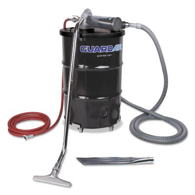 GUARDAIR Complete Vacuum Unit, 55 gal, 24 in Crevice Tool and 4 in Wand