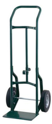 HARPER TRUCKS Specialty Hand Trucks, 600 lb Cap., 8 in x 14 in Base Plate, Continuous Handle