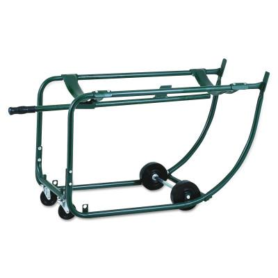HARPER TRUCKS Drum Racks, 4-Wheel, 800 lb
