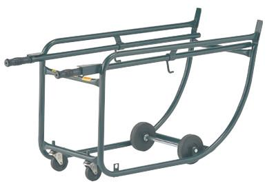 HARPER TRUCKS Drum Racks, 0-Wheel, 800 lb