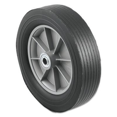 HARPER TRUCKS Truck Wheels, WH 26, Solid Rubber, 12 in Diameter