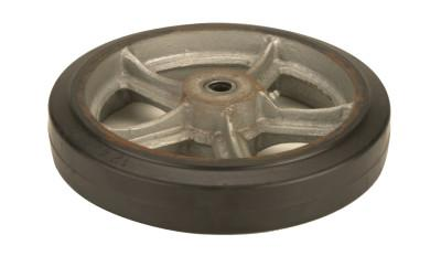 HARPER TRUCKS Truck Wheels, WH 50, Molded on Rubber, 12 in Diameter