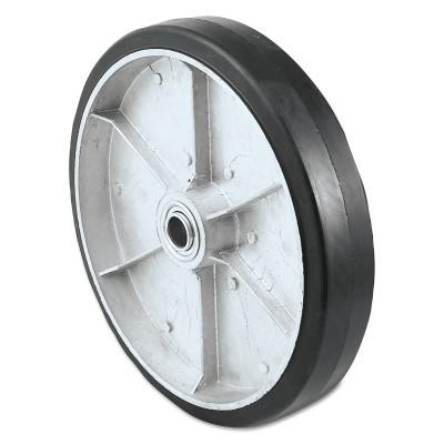 HARPER TRUCKS Truck Wheels, WH 62, Molded on Rubber, 10 in Diameter