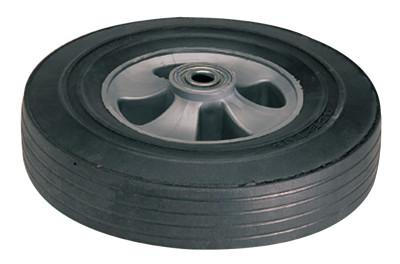 HARPER TRUCKS Truck Wheels, WH 64, Solid Rubber, 10 in Diameter
