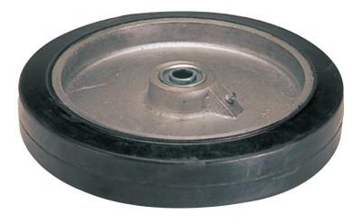 HARPER TRUCKS Truck Wheels, WH 68, Molded on Rubber, 10 in Diameter