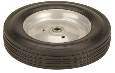 HARPER TRUCKS Truck Wheels, WH 70-C, Semi-Pneumatic, Conductive, 8 in Diameter