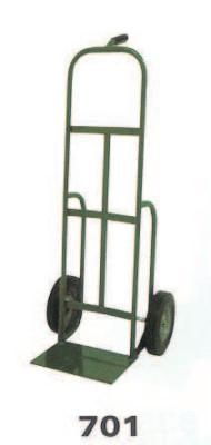 SAF-T-CART 700 Series Carts, 400 lb Cap., 14 in x 10 in Base Plate, Pistol Grip Handle