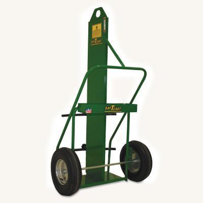 SAF-T-CART Large Cylinder Cart, Holds 12-1/2 in Cylinder