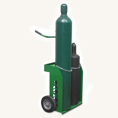 SAF-T-CART Small and Medium Cylinder Carts, Holds 9 1/2 in Cylinder