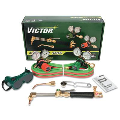 VICTOR Cutter Select Medalist 250 Outfit, 1/2 in; 5 in, Oxygen; Acetylene