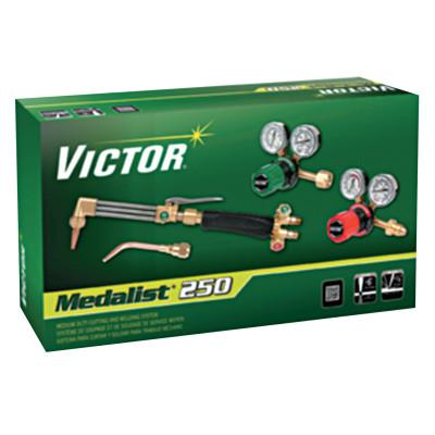 VICTOR Cutter Select Medalist 250 Outfit, 5 in, Oxygen; Acetylene