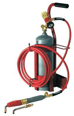 TURBOTORCH Torch Kit Swirls, Oxygen; Acetylene, TDLX2003MC, MC Tank