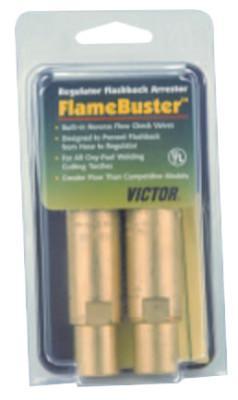 VICTOR Flamebuster™ Plus Torch Flashback Arrestors, FBP-1; Heavy Duty, Oxy/Fuel, Torch