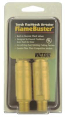 "VICTOR FlameBuster™ Flashback Arrestors, FB-F, Fuel, ""B"" 9/16 in-18 LH; CGA 023"