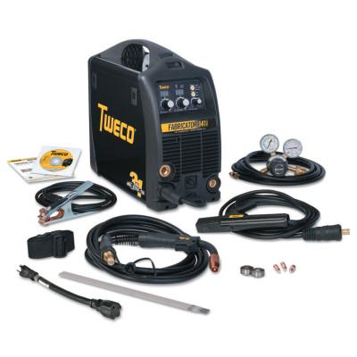 TWECO Fabricator 141i MIG/Stick/TIG Welder with Basic Utility Cart, 115 V Input Power