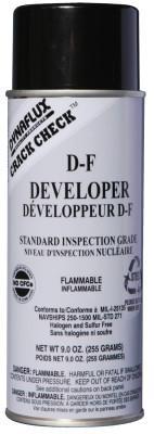 DYNAFLUX Visible Dye Penetrant Systems, Developer, Aerosol Can, 16 oz