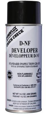 DYNAFLUX Visible Dye Penetrant Systems, Developer, Nuclear, Aerosol Can, 16 oz