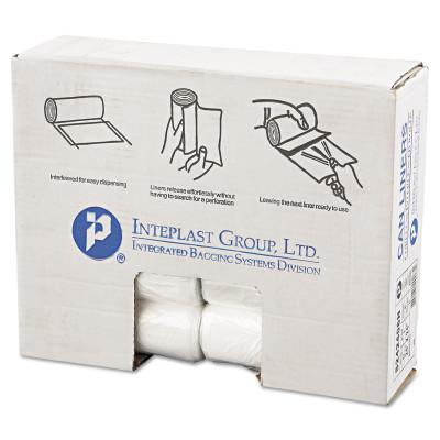 INTEPLAST GROUP Commercial Can Liners, 7 gal - 10 gal, 6 gauge, 24 X 24, Natural