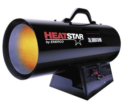HEAT STAR Portable Propane Forced Air Heater, 35,000 Btu/h, 115 V
