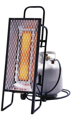 HEAT STAR Portable Radiant Heater, 35,000 Btu/h, 12 h