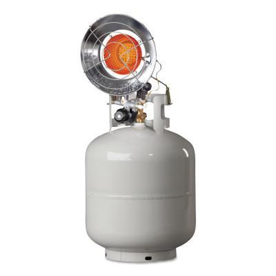 HEAT STAR Portable Propane Radiant Heaters, 14,000 Btu/h, 1.5 h