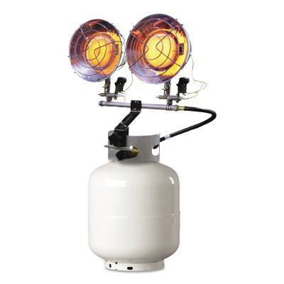 HEAT STAR Portable Propane Radiant Heaters, 20,000 Btu/h, 15 h