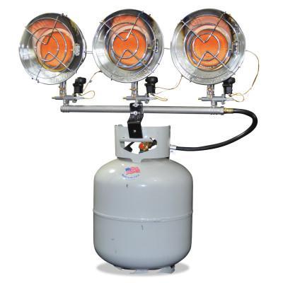 HEAT STAR Portable Propane Radiant Heaters, 42,000 Btu/h, 43 h