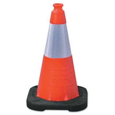 VIZCON Enviro Cone, 18 in, LDPE, Orange