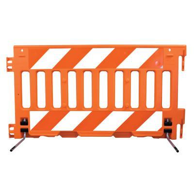 "VIZCON ADA Barricade Wall, Orange, 72""L x 38""H, No Sheeting"