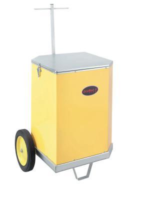 PHOENIX DryRod Portable Electrode Ovens, 150 lb, 0.50 VAC, Type 15 w/ Wheels