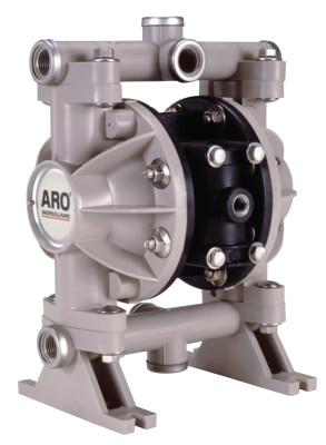 ARO Diaphragm Pumps, 1/2 in (NPTF) Outlet, Polypropylene - Polyurethane