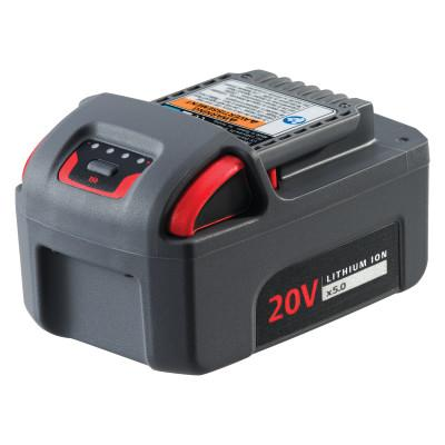 INGERSOLL RAND IQV20 Series Cordless Battery, 20V, 5.0 Ah Lithium-Ion