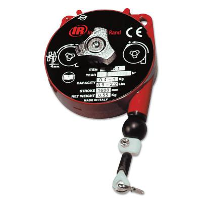INGERSOLL RAND Light Duty Balancers, 0.9 lb - 2.2 lb, 5.2 ft Cable