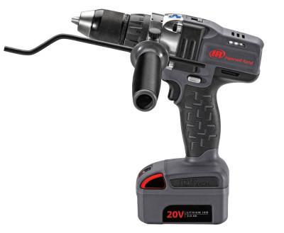 INGERSOLL RAND D5140 20V Drill/Driver Kits, 1/2 in Chuck