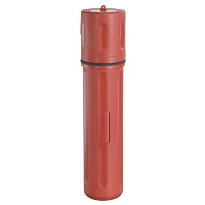 ROD GUARD Lincoln Electrodes Canisters, HIPE, For 12 in to 14 in Electrode, Red