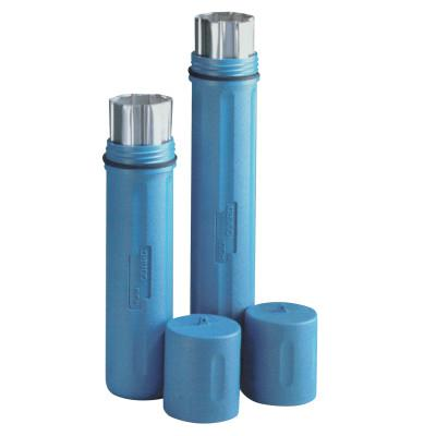 ROD GUARD Polyethylene Canisters, For 12 to 14 in Electrode, High Temp, Blue