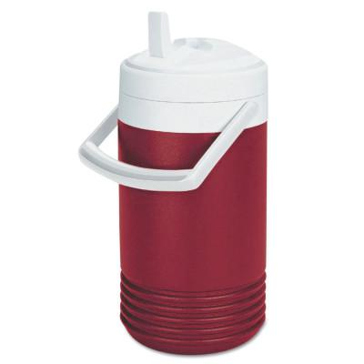 IGLOO Red Legend Coolers, 1 gal, Diablo Red; White