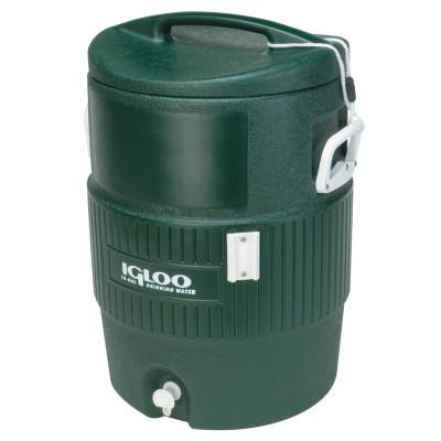 IGLOO 400 Series Coolers, 10 gal, Hunter Green