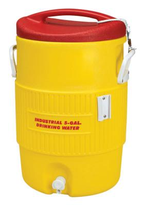 IGLOO 400 Series Coolers, 5 gal, Red, Yellow