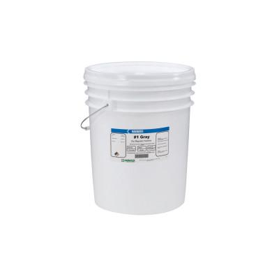 MAGNAFLUX Magnavis Dry Method Non-Fluorescent Magnetic Powders, 10 lb, Pail, Gray