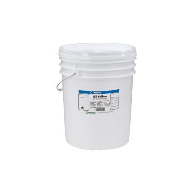 MAGNAFLUX Magnavis Dry Method Non-Fluorescent Magnetic Powders, 10 lb, Pail, Yellow